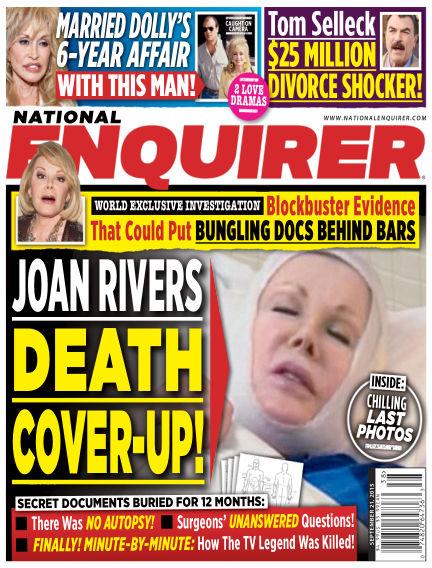 National Enquirer September 11, 2015 00:00