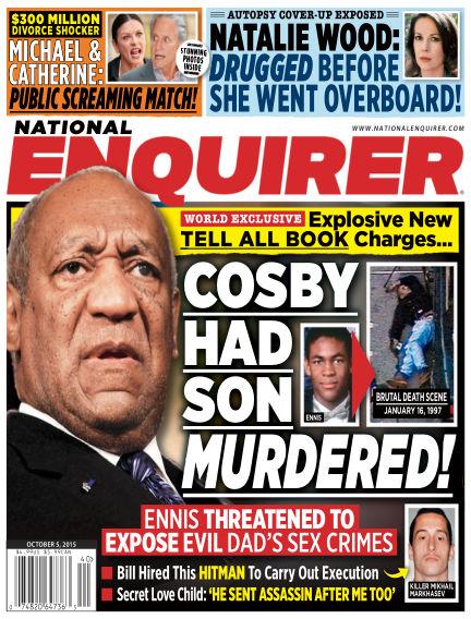 National Enquirer September 25, 2015 00:00