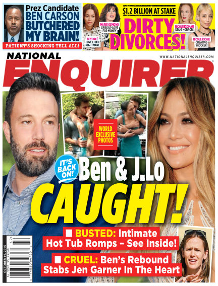 National Enquirer October 09, 2015 00:00
