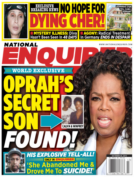 National Enquirer October 16, 2015 00:00