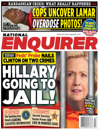 National Enquirer Issue 44, 2015