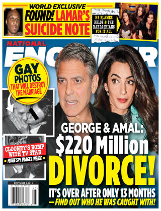 National Enquirer Issue 45, 2015