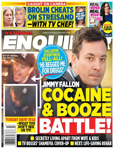 National Enquirer November 13, 2015 00:00