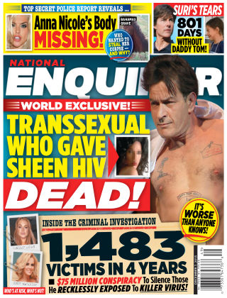 National Enquirer Issue 49, 2015