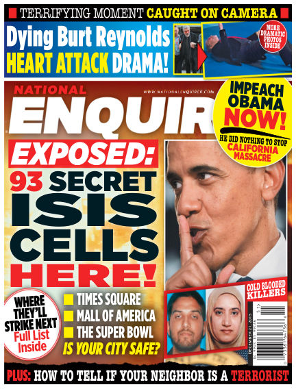 National Enquirer December 11, 2015 00:00
