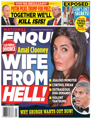 National Enquirer Jan 4 2016