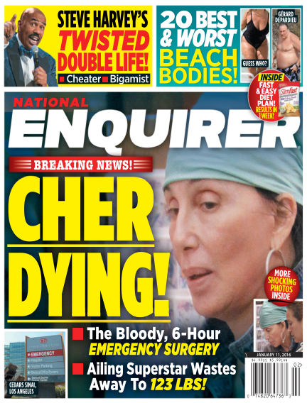 National Enquirer January 01, 2016 00:00