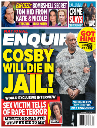 National Enquirer Jan 18 2016