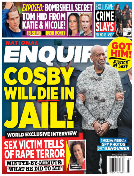 National Enquirer January 08, 2016 00:00