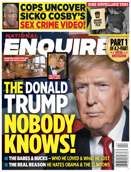 National Enquirer January 15, 2016 00:00