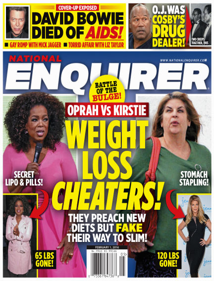 National Enquirer January 22, 2016 00:00