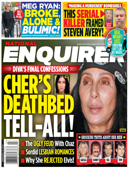 National Enquirer February 05, 2016 00:00
