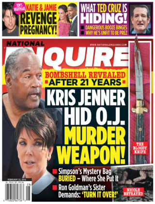 National Enquirer Feb 22 2016