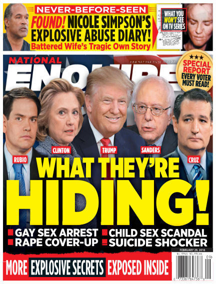 National Enquirer February 19, 2016 00:00