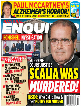 National Enquirer Mar 7 2016