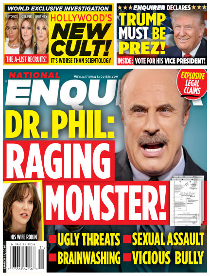 National Enquirer March 04, 2016 00:00