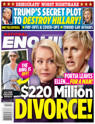 National Enquirer Mar 21 2016