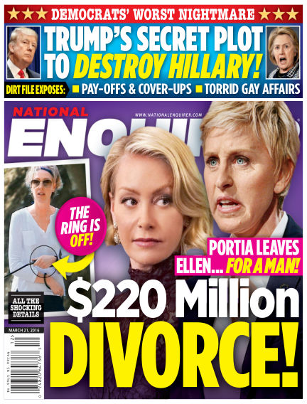 National Enquirer March 11, 2016 00:00