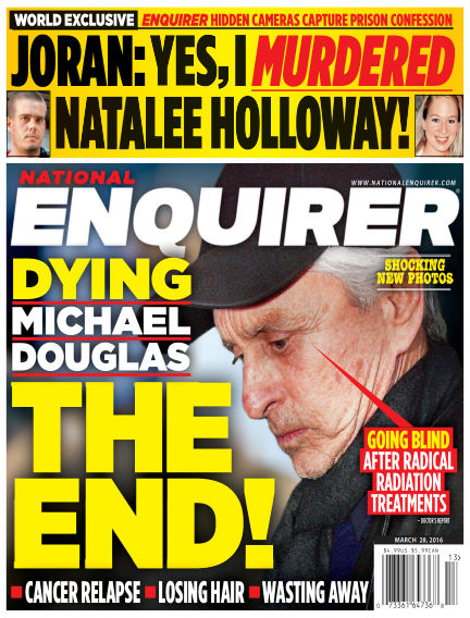 National Enquirer March 18, 2016 00:00