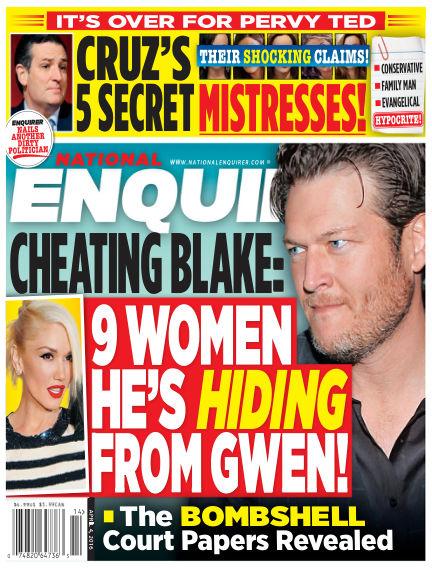 National Enquirer March 25, 2016 00:00