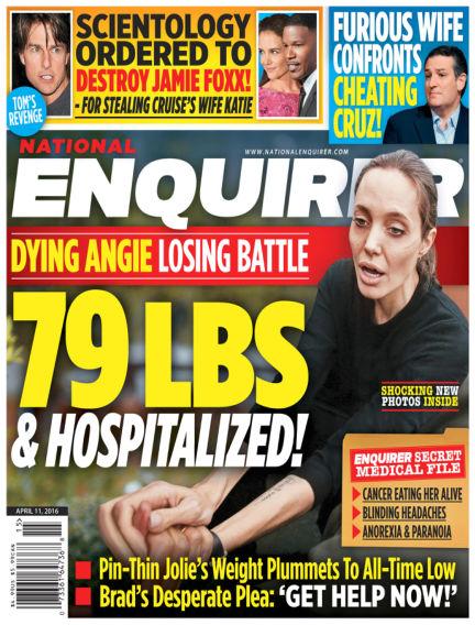 National Enquirer April 01, 2016 00:00