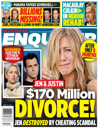 National Enquirer Apr 25 2016