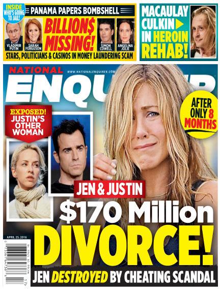 National Enquirer April 15, 2016 00:00