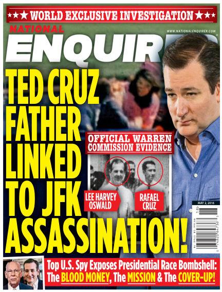 National Enquirer April 22, 2016 00:00