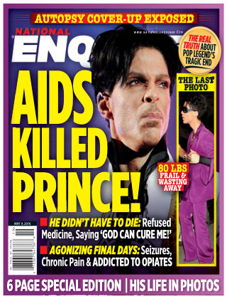 National Enquirer May 9 2016