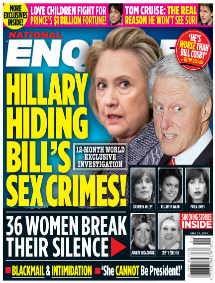 National Enquirer May 13, 2016 00:00