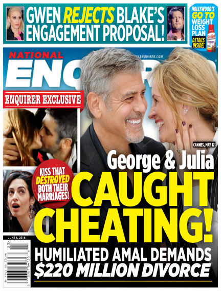 National Enquirer May 27, 2016 00:00