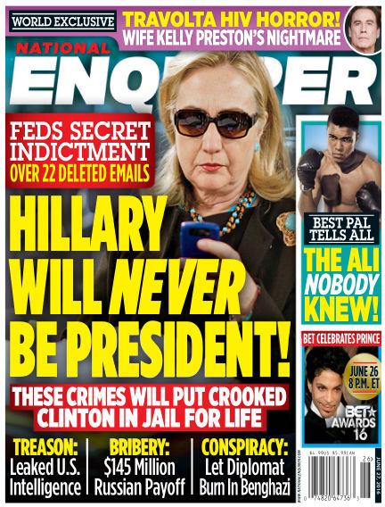 National Enquirer June 17, 2016 00:00