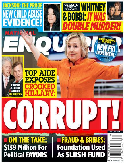 National Enquirer July 01, 2016 00:00