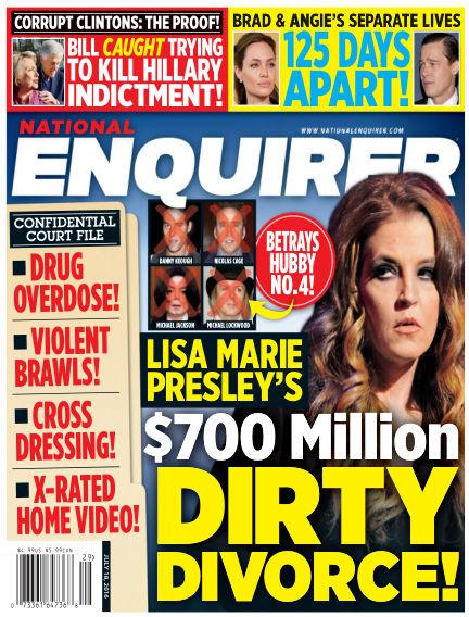National Enquirer July 08, 2016 00:00