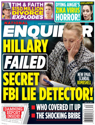 National Enquirer Jul 25 2016