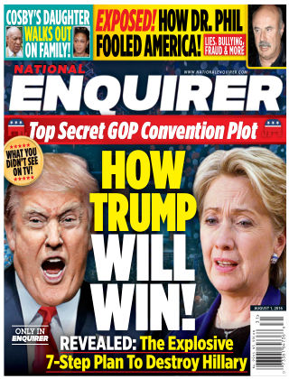 National Enquirer Aug 1 2016