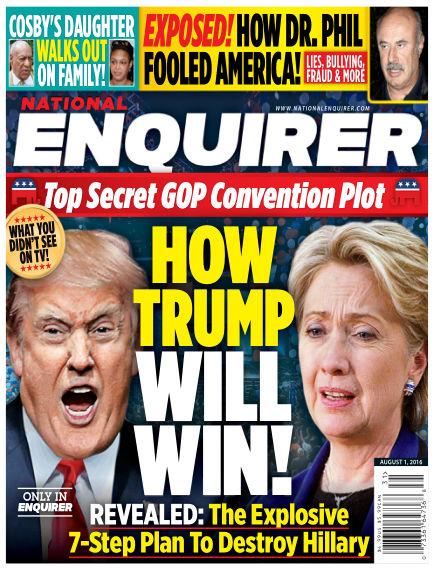 National Enquirer July 22, 2016 00:00