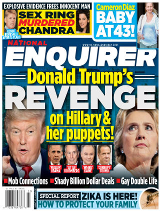 National Enquirer Aug 15 2016