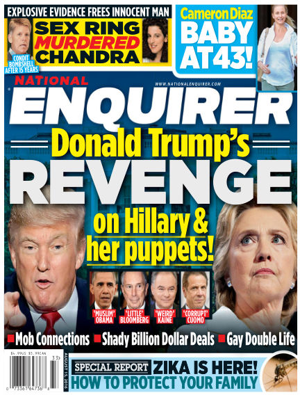 National Enquirer August 05, 2016 00:00