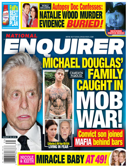 National Enquirer August 19, 2016 00:00