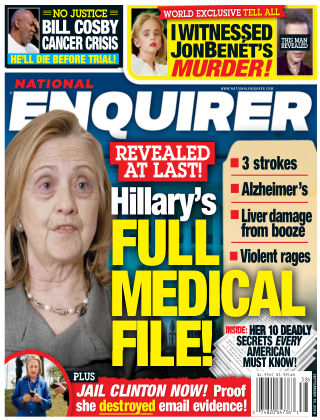 National Enquirer Sep 19 2016