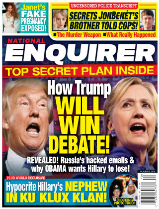 National Enquirer Oct 3 2016