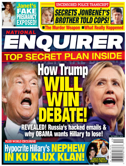 National Enquirer September 23, 2016 00:00