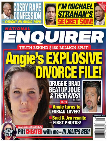 National Enquirer September 30, 2016 00:00