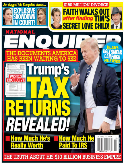 National Enquirer October 07, 2016 00:00