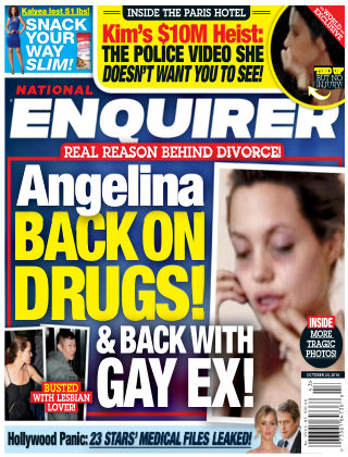 National Enquirer Oct 24 2016