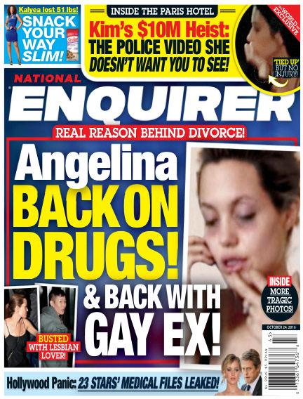 National Enquirer October 14, 2016 00:00