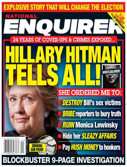 National Enquirer October 21, 2016 00:00