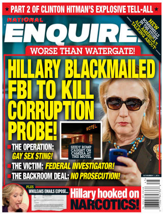 National Enquirer Nov 7 2016
