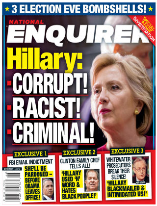 National Enquirer Nov 14 2016